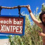 Οι 4 Χοντρές - το beach bar του ηθοποιού Αναστάση Κολοβού