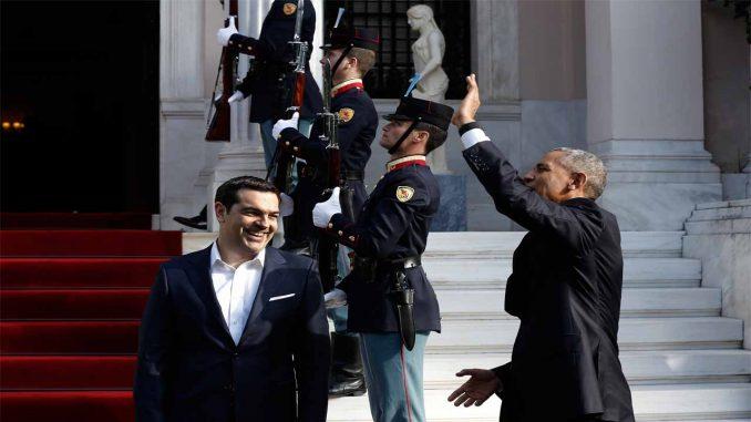 Ομπάμα βρίσκεται ήδη στην Αθήνα