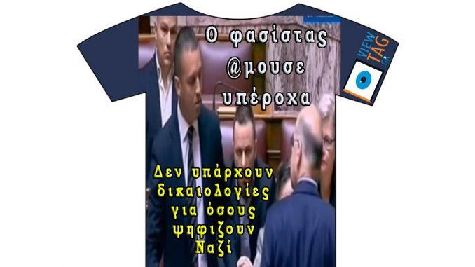 Δεν υπάρχουν δικαιολογίες πλέον! Ούτε άλλοθι, ούτε και καμία συμπάθεια σε όσους ψηφίζουν τους φασίστες και τους δίνουν ρόλο στη βουλή!