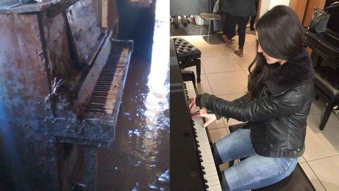 Ένα πιάνο