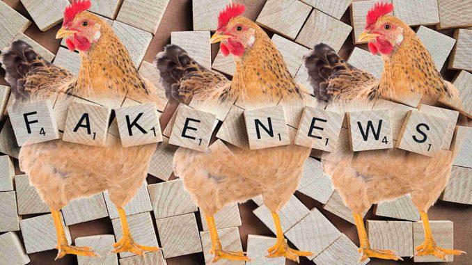 Fake News και κότες λιράτες