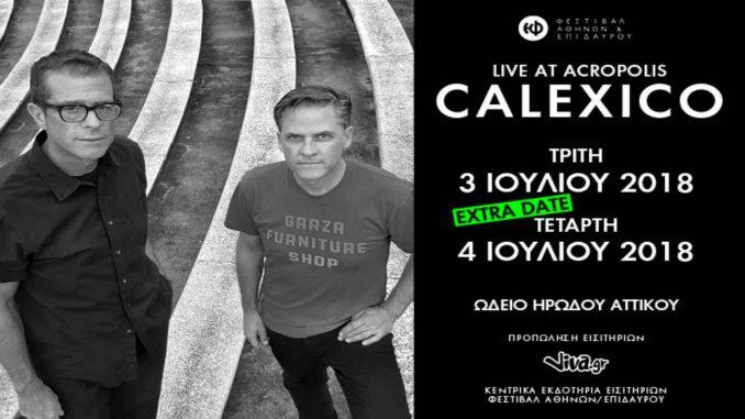 CALEXICO Live at Acropolis