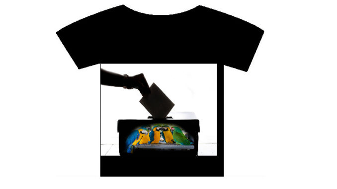 T-shirt Stories: Ψηφίζουμε